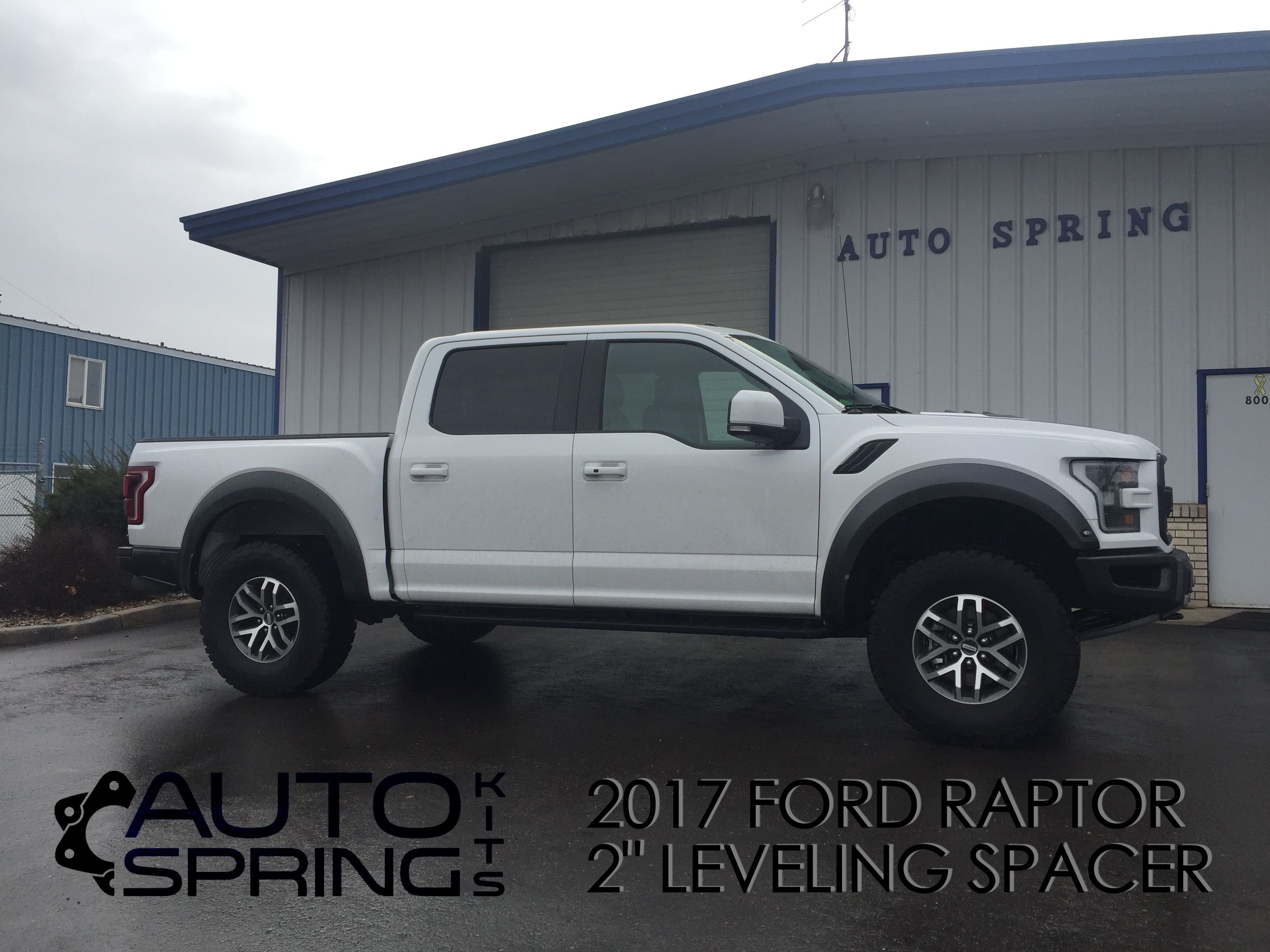 2017 2018 Ford F 150 Raptor Svt 2 Front Leveling Kit Auto Spring Corp