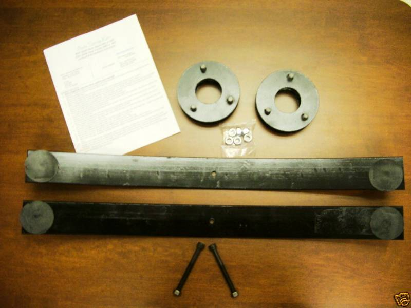 2005 2018 Nissan Frontier Front Rear 25 Lift Kit Add A Leaf